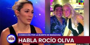 Не допуснаха последното гадже на Марадона – Росио Олива до ковчега му